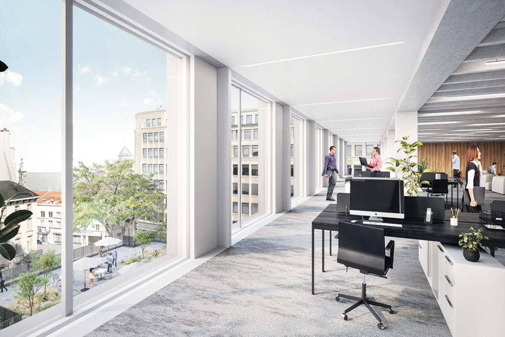 Cushman & Wakefield - interior Multi Tower Brussels