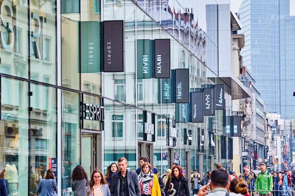 The Mint - Shopping Center Brussels